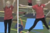 Jumping to long and wide shapeKey 2 Body Temperature RaisingGymnastics Drills Coaching