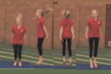 Rhythmic Jumping phrase routine Drill Thumbnail