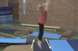 Jump down from Apparatus long shapeKey 2 content Jump & TwistsGymnastics Drills Coaching