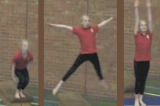 Jump down from apparatus wide shapeKey 2 content Jump & TwistsGymnastics Drills Coaching