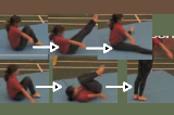 BC Routine Stage 2Key 2 Body Condition LinkageGymnastics Drills Coaching