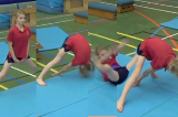 Full straddle forward roll from straddle stand Drill Thumbnail