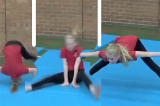 Full straddle forward roll from straight standingKey 2 content Forward rollGymnastics Drills Coaching