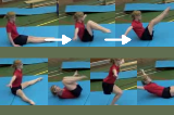 Body conditioning routine Rock Back Drill Thumbnail