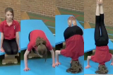 Headstand from inclined box shape Drill Thumbnail