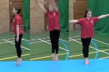 Jump to long shape with 1/4 twist to feet Drill Thumbnail