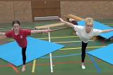 Arabesque on right leg then left legKey 2 Calm DownGymnastics Drills Coaching