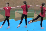 Calm down single leg balanceKey 2 Calm DownGymnastics Drills Coaching
