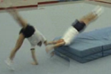 Half twist to handstand: half twist to flatbacktwist cart wheelGymnastics Drills Coaching