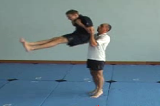 Lifting from elbow into pikeKey 5 Partner LiftingGymnastics Drills Coaching