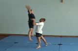 Lifting from hips into star shapeKey 5 Partner LiftingGymnastics Drills Coaching