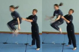 Lifting from hips into tuck and pushing to landKey 5 Partner LiftingGymnastics Drills Coaching