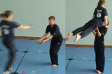jump into lifting from thighs into layout balanceKey 5 Partner LiftingGymnastics Drills Coaching
