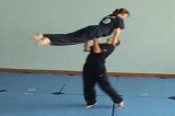 Lifting from Thighs into a Layout Balance.Key 5 Partner LiftingGymnastics Drills Coaching