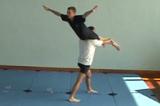 Squat Lift into Horizontal Balance.Key 5 Partner LiftingGymnastics Drills Coaching
