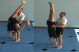 catching on footKey 5 4 CatchingGymnastics Drills Coaching