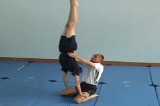 Thigh catch into handstand Drill Thumbnail