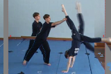 Catching a legKey 5 4 CatchingGymnastics Drills Coaching