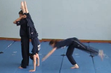 Kick up to a Handstand Balance. (forwards)Key 5 4 CatchingGymnastics Drills Coaching
