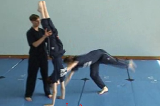 Cartwheel with a 1/4 twist sideways into a Handstand.Key 5 4 CatchingGymnastics Drills Coaching