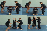 Backwards roll to Handstand balance.Key 5 4 CatchingGymnastics Drills Coaching
