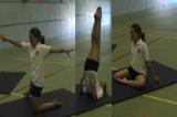 Shoulder Balance SandwichKey 1 content balanceGymnastics Drills Coaching
