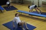 .  Stepping on All FoursKey 1 content ApparatusGymnastics Drills Coaching