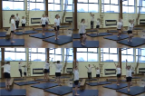 Bounding/ReboundingKey 3 Body Temperature RaisingGymnastics Drills Coaching