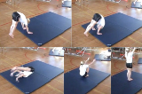 forward roll along mat Drill Thumbnail