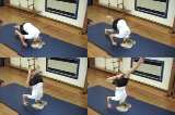 Headstand Progressions stag leg on mat Drill Thumbnail