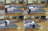 Vault Progressions along bench.Key 3 VaultGymnastics Drills Coaching