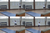 Stag leap progressionKey 3 Body Temperature RaisingGymnastics Drills Coaching