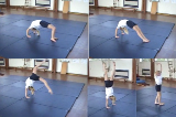 Modified Bridge into Full Bridge with Backward Exit through Handstand Drill Thumbnail