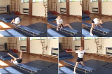 Forward Roll straddle shape along bench.Key 3 Forward rollGymnastics Drills Coaching