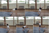 Round Off from bench, narrow angle Drill Thumbnail