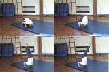 headstand with straight and then split.Key 3 HeadstandGymnastics Drills Coaching