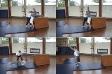 Handstand with forward roll exit with straight arms from box top. Drill Thumbnail