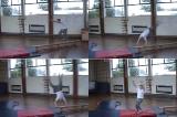 Teach Tumble Preparation into Tinsika down from horizontal benches | Key 3 Tinsika
