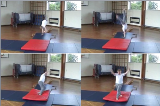 Teach Tumble Preparation into Tinsika down from horizontal benchesKey 3 TinsikaGymnastics Drills Coaching