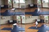 Teach Tumble Preparation into Tinsika along a mat.Key 3 TinsikaGymnastics Drills Coaching