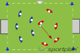 Rounders Hockey - Roll the ball Drill Thumbnail
