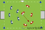 Rounders Hockey - Roll the ball Drill Thumbnail
