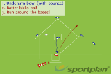 Kick Ball Rounders | Conditioned games