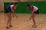 Reaction ball dropGround FieldingRounders Drills Coaching