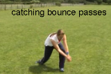 Bounce pass reaction catchThrowing & CatchingRounders Drills Coaching