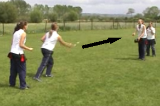 Under arm relayThrowing & CatchingRounders Drills Coaching