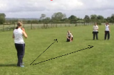 Moving sideways to retrieve the ballGround FieldingRounders Drills Coaching