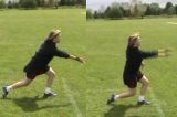 Two step BowlBowlingRounders Drills Coaching