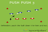 Push Push 3SevensRugby Drills Coaching