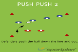 Push Push 2SevensRugby Drills Coaching